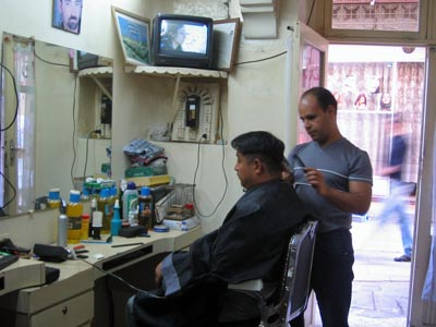 Barber In The World Morocco